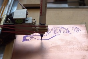 Turning Your CNC Router Into A Pen Plotter