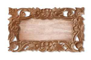 wooden sign cnc router application