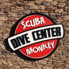 Scuba Dive Center Sign